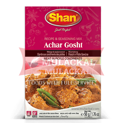 Picture of SHAN Achar Ghosht Curry Mix 10x50g