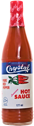 Picture of CRYSTAL Hot Sauce 24x177ml
