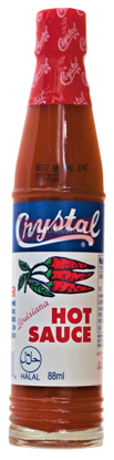 Picture of CRYSTAL Hot Sauce 36x88ml