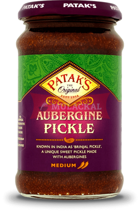 Picture of PATAK Brinjal Pickle 6x250g