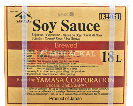 Picture of YAMASA Soy Sauce 1x18L