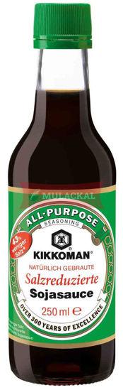 Picture of KIKKOMAN Soy Sauce (less salt) 6x250ml