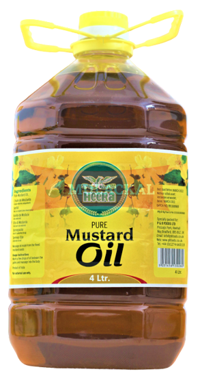 Picture of HEERA Mustard Oil 4x4L