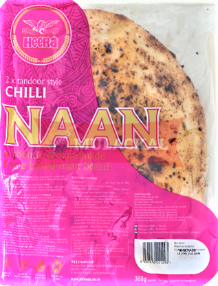 Picture of HEERA Chilli Naan 2 Pcs 14x360g