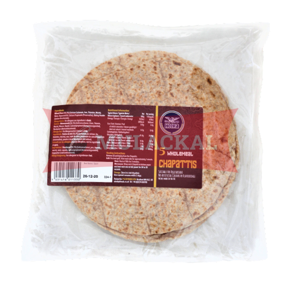 Picture of HEERA Chapatti Wholemeal 5 Pcs 12x350g