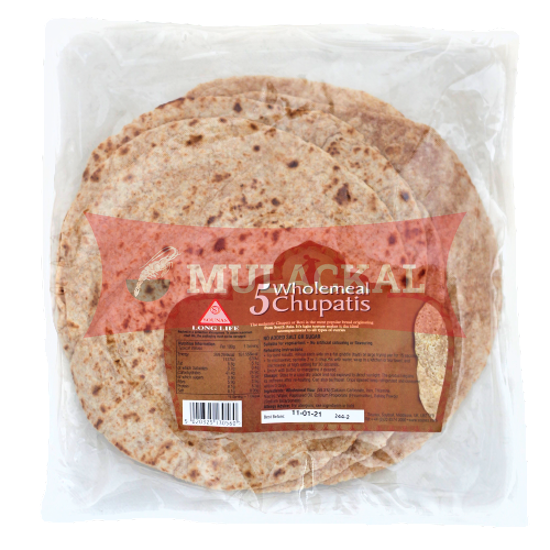 Picture of SOUNAS Chapatti Wholemeal 25x5pcs