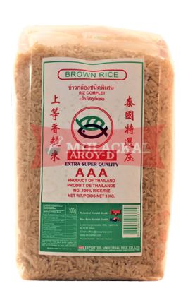 Picture of AROY-D Jasmin Brown Rice 12x1kg