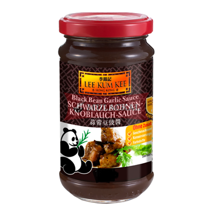 LKK Black Bean Garlic Sauce 368g