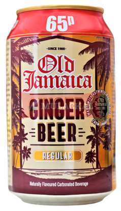 Picture of OLD JAMAICA Ginger Beer (alcohol free) 24x330ml