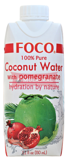Picture of FOCO Coconut Water with Pomegranate 12x330ml