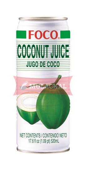 Picture of FOCO Coconut Juice 24x520ml