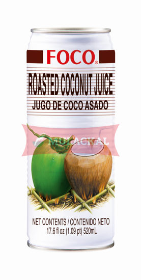 Picture of FOCO Roasted Coconut Juice 24x520ml