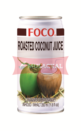 Picture of FOCO Roasted Coconut Juice 24x350ml
