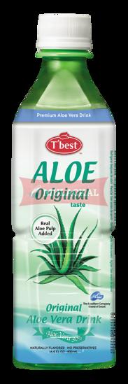 Picture of T'BEST Aloe Vera Drink Original 20x500ml