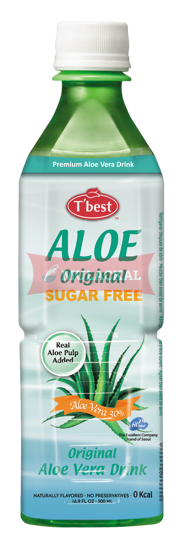 Picture of T'BEST Aloe Vera Drink Sugar Free 20x500ml