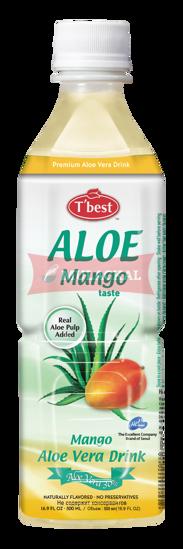 Picture of T'BEST Aloe Vera Drink Mango 20x500ml