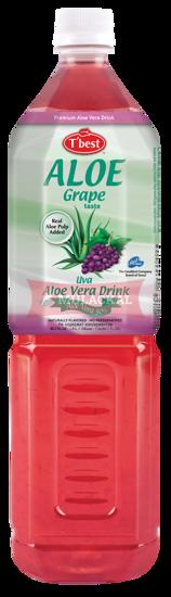 Picture of T'BEST Aloe Vera Grape 12x1.5L