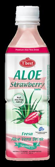 Picture of T'BEST Aloe Vera Strawberry 20x500ml