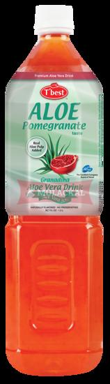 Picture of T'BEST Aloe Vera Pomegranate 12x1.5L
