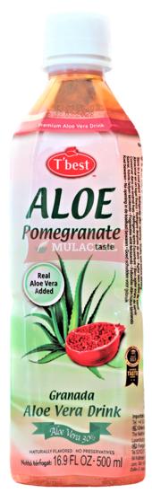 Picture of T'BEST Aloe Vera Pomegranate 20x500ml