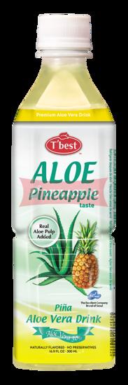 Picture of T'BEST Aloe Vera Pineapple 20x500ml