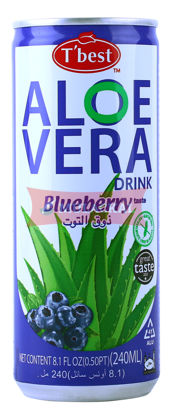 Picture of T'BEST Aloe Vera Blueberry 30x240ml
