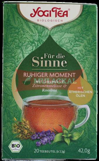 Picture of YOGI TEA Für die Sinne - Ruhiger Moment Bio 6x42g