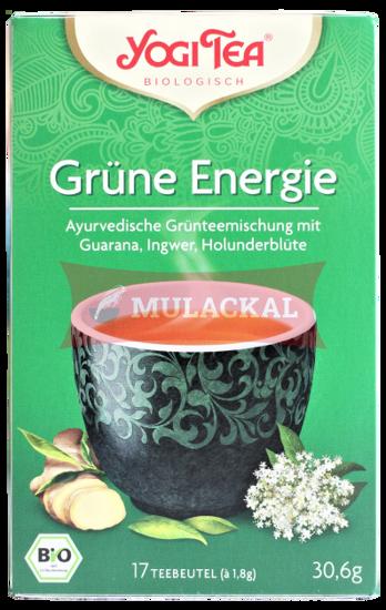 Picture of YOGI TEA Grüne Energie Tee Bio 6x30.6g