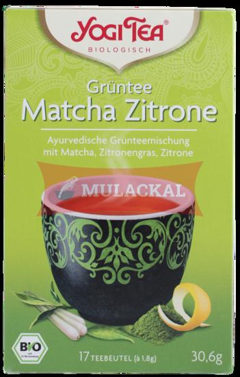 Picture of YOGI TEA Grüntee Matcha Zitrone Bio 6x30.6g