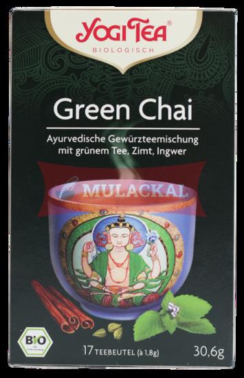 Picture of YOGI TEA Green Chai Bio 6x30.6g