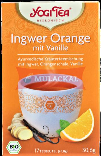 Picture of YOGI TEA Ingwer Orange mit Vanille Bio 6x30.6g