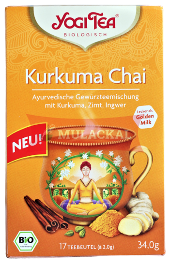 Picture of YOGI TEA Kurkuma Chai Bio 6x34g