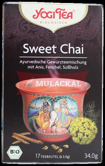 Picture of YOGI TEA Sweet Chai Bio 6x34g
