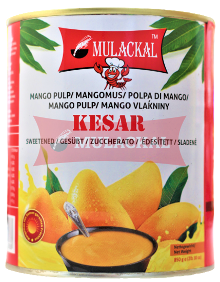 MULACKAL Kesar Mango Pulp 850g