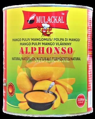 MULACKAL Alphonso Mango Pulp 3.1kg