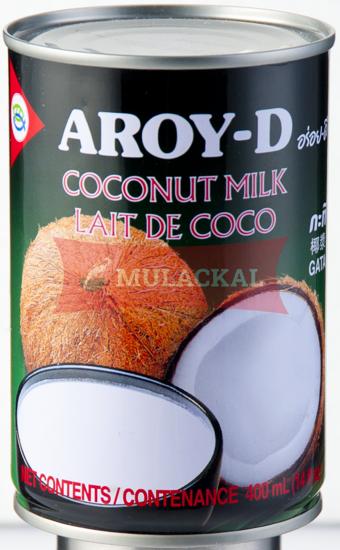 AROY-D Coconut Milk - tin 400ml