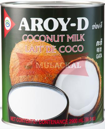 AROY-D Coconut Milk - tin 2.9L