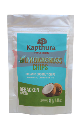 Picture of KAPTHURA Organ. Coconut Chips Raw 24x40g