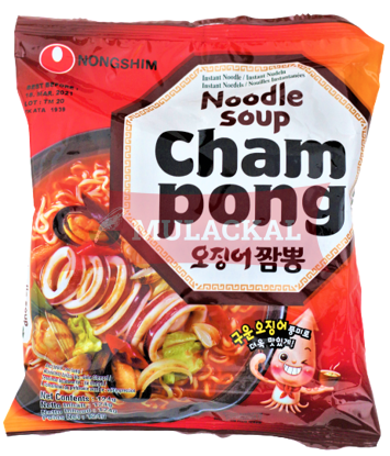Picture of NONG SHIM Cham Pong Ramyun Instant Noodles 20x124g