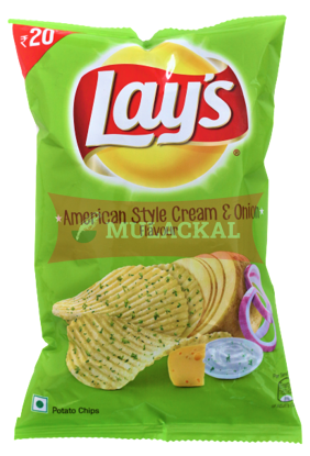 Picture of LAY'S American Style Cream & Onion Chips 24x60g