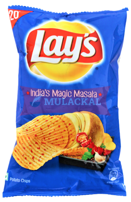Picture of LAY'S Indian Magic Masala Chips 24x60g