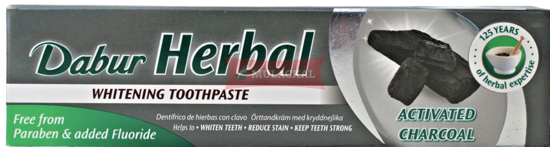 Picture of DABUR Herbal Charcoal Toothpaste 72x100g