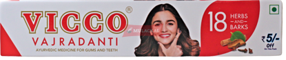 Picture of VICCO Vajradanti Toothpaste 60x200g