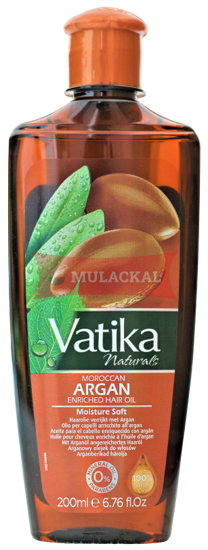 Picture of DABUR Vatika Argan Enriched Hair Oil 36x200ml