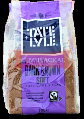 TATE & LYLE Cane Sugar Dark Brown 500g