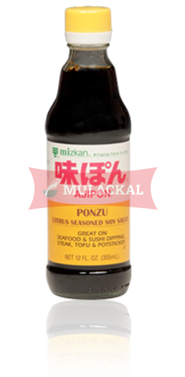 MIZKAN Ajipon Ponzu Lemon Seasoned Soy Sauce 355ml