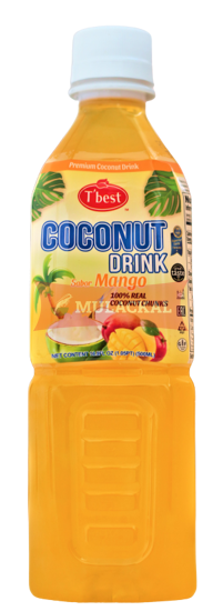 T'BEST Coconut Drink with Mango 500ml