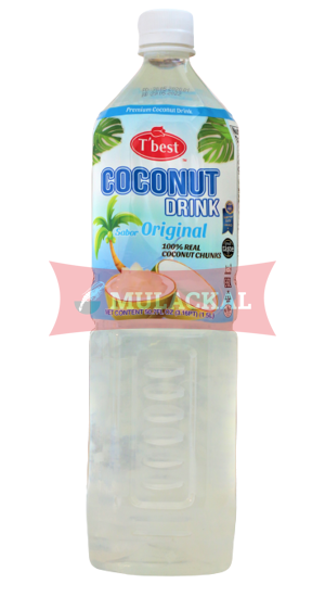 T'BEST Coconut Drink with Pulp 1.5L