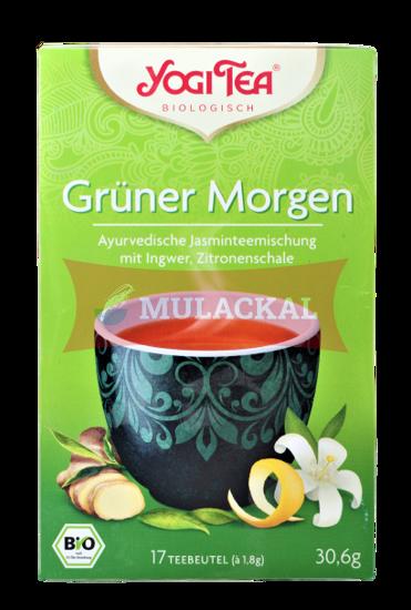 YOGI TEA Grüner Morgen Tee Bio 30.6g