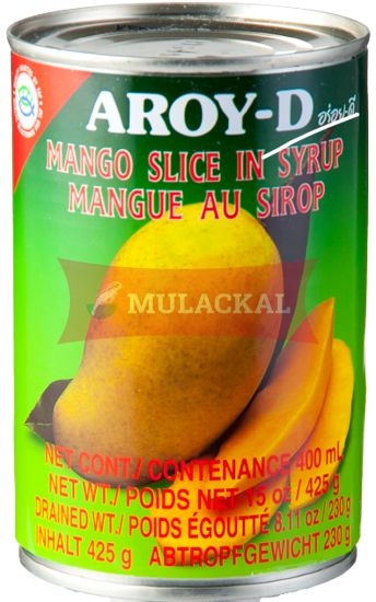 AROY-D Mango Slice in Syrup 430g